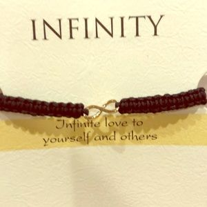 Infinity: love to yourself and others bracelet